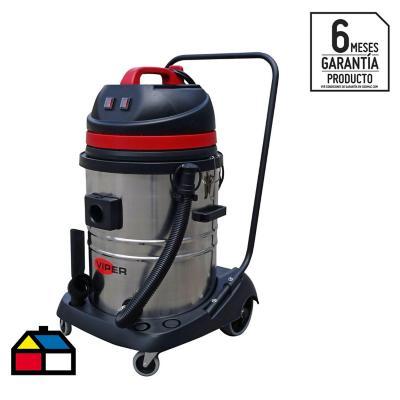Aspiradora seco/húmedo eléctrica 2000 W 75 litros