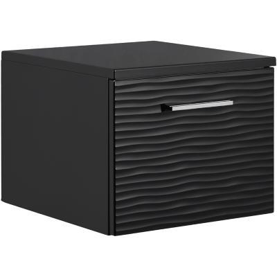 Mueble bajo 40 1 cajón Negro