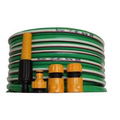 Kit manguera 15m  1/2´´, 12mm/17mm verde