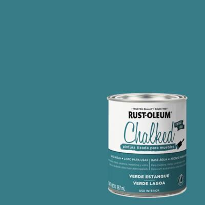 Chalked pintura tizada Verde Estanque 0,887L