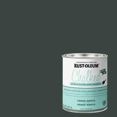 Chalked pintura tizada Verde Menta 0,887L