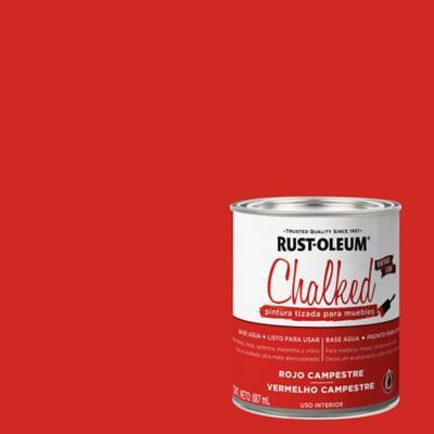 Chalked pintura tizada Rojo Campestre 0,887L