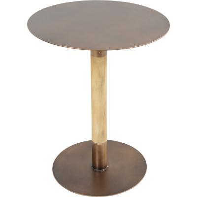 Mesa lateral cobre  metal