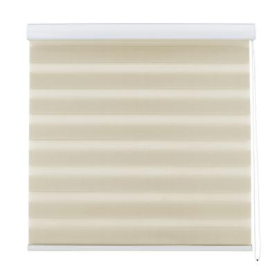 Cortina enrollable duo 90x220 beige