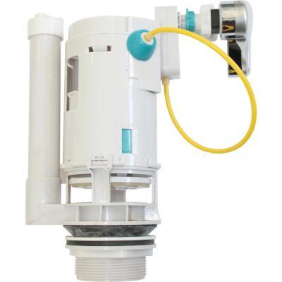 Válvula descarga dual con manilla