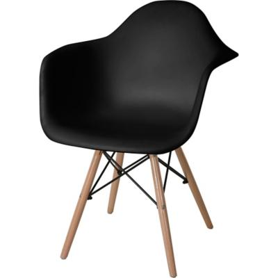 Set 2 sillas gales negra