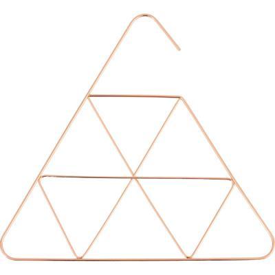 Colgador metalico pirámides