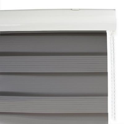 Cortina enrollable duo 150x240 cm gris