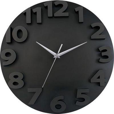 Reloj 3d go 50x50cm negro