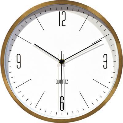 Reloj classic 30x30cm dorado