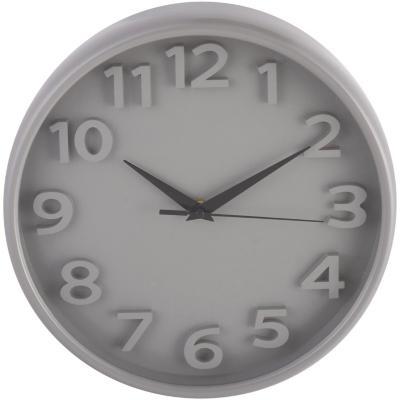 Reloj chrono 26x26cm gris