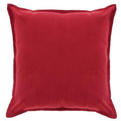 Cojín liso rojo 40x40 cm