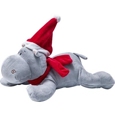 Hipopótamo 60 cm sombrero y bufanda