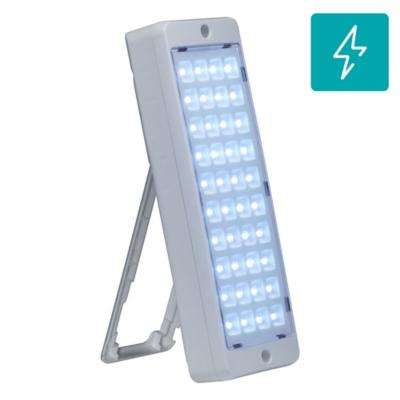 Luminaria emergencia 40 Led 4/17 hr 120 LM litio-ion 1x 3,7V x 2 Ah PE 5/23
