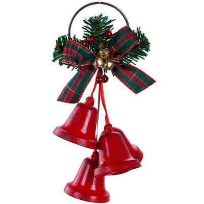 Adorno campanas 20 cm roja xm
