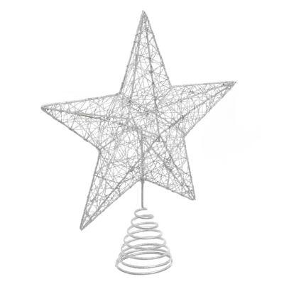 Tope estrella glitter 25 cm