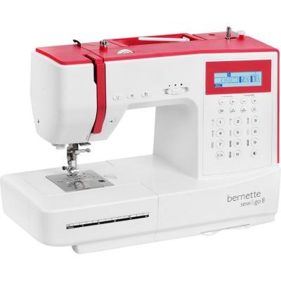 Máquina de coser eléctrica bernette sew go 8