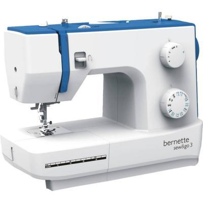 Máquina de coser eléctrica bernette sew go 3