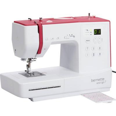 Máquina de coser eléctrica bernette sew go 7