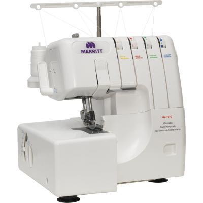 Máquina de coser overlock eléctrica merrit