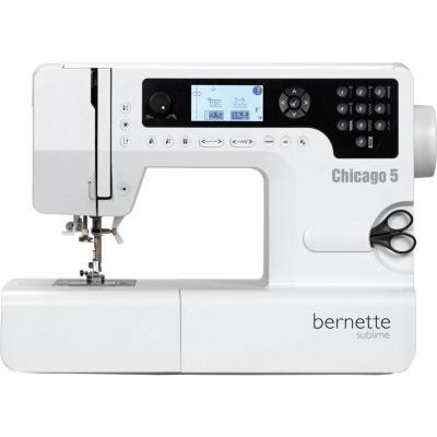 Máquina de coser eléctrica bernette Chicago 5