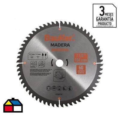"""Disco de sierra circular 10"""" 60 dientes"""
