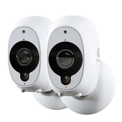 Pack cámaras de seguridad wifi 1080p full hd