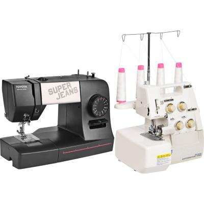 Combo máquina de coser + overlock superjeans