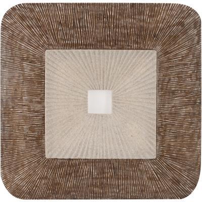 Placa cuadrada beige 65X65X8 cm