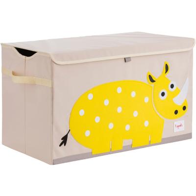 Baúl juguetes rinoceronte 45,5x43x45,5 cm