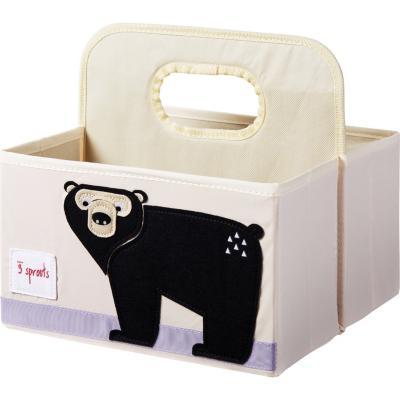 Organizador de pañales oso 45,5x43x45,5 cm