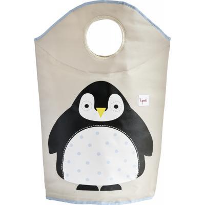 Contenedor ropa sucia pingüino 45,5x43x45,5 cm