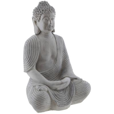 Buda decorativo 39x26,5 cm resina