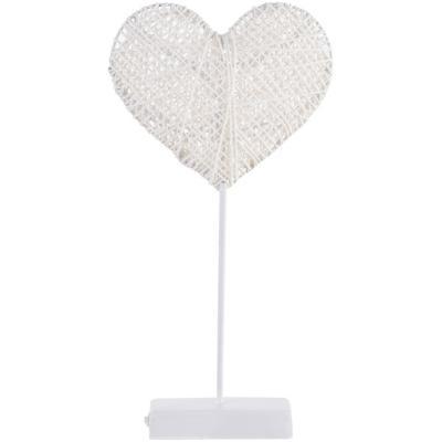 Decoración de mesa Corazón 10 luces led