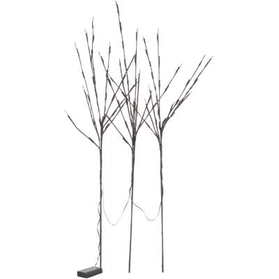 Decoración 3 ramas con luces led