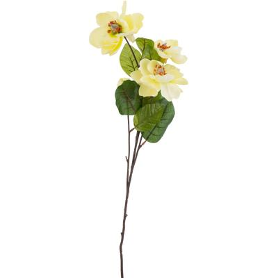 Flor artificial magnolia de 66 cm