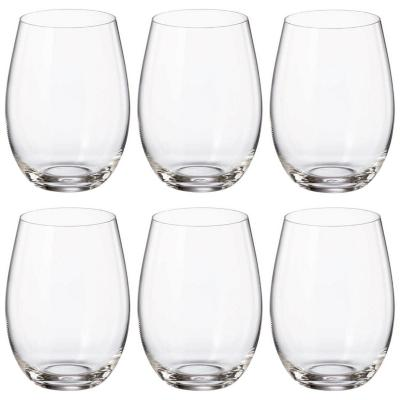 Set Vasos de Cristal 6 Unidades