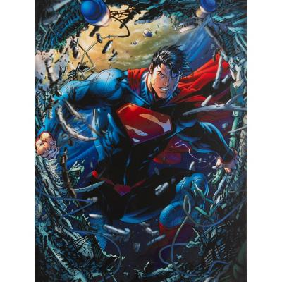 Canvas Superman Unchained 60x80 cm