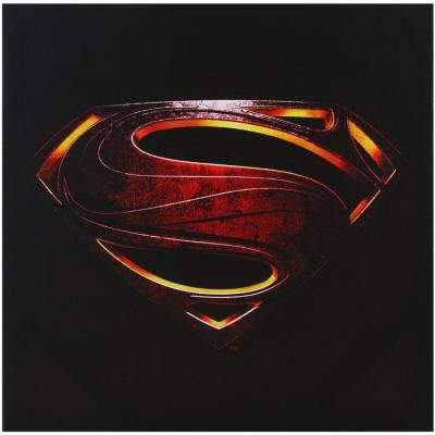 Canvas Logo Superman 40x40 cm
