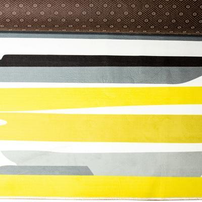 Alfombra ultra suave 140x200 cm multicolor