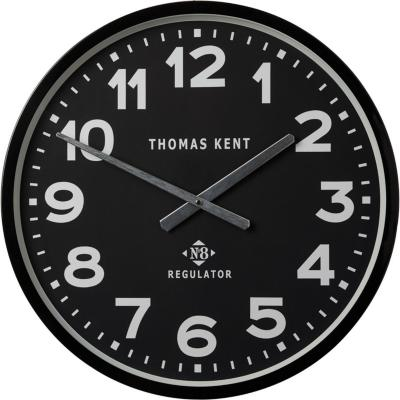Reloj Muro 54 cm negro Regulator