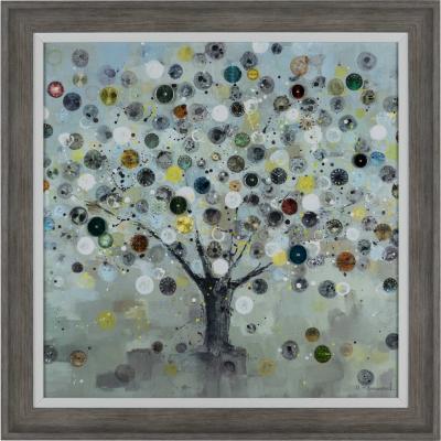 Cuadro enmarcado 60x60 cm Watch Tree