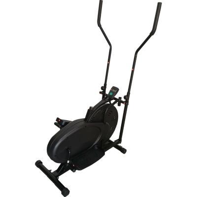 Bicicleta elíptica manual negra