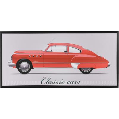 Canvas con marco Classic Car Limosina 38x80 cm