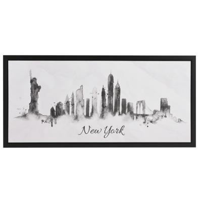 Canvas con marco New York 38x80 cm