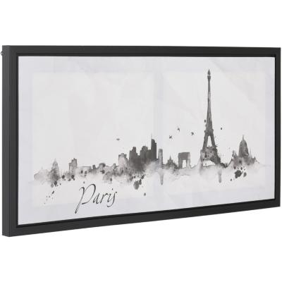 Canvas con marco Paris 38x80 cm