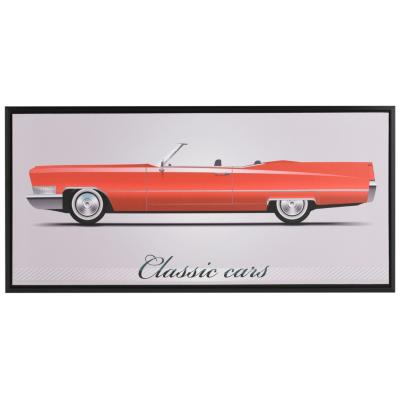 Canvas con marco Classic Car descapotable 38x80 cm
