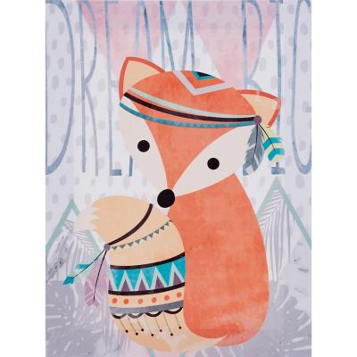 Canvas infantil zorro dream big 30x40 cm
