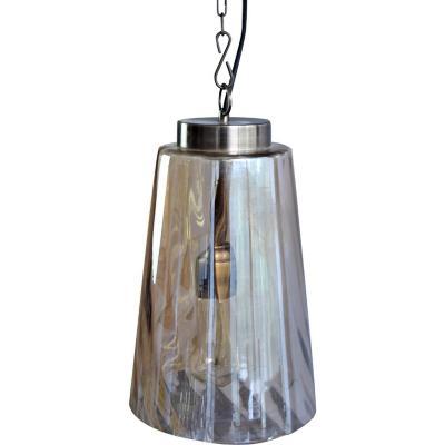 Lámpara de colgar Vidrio Indore Ámbar