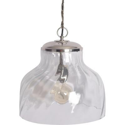 Lámpara de colgar Vidrio Bundi Clear Transparente